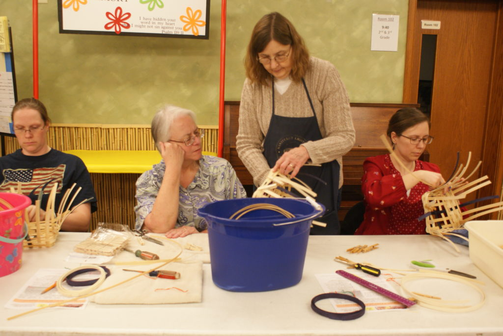 inspired sisters hammond basket weaving zions church be social