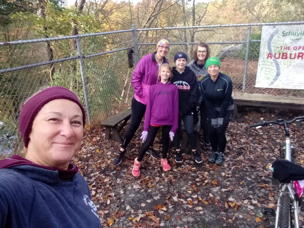 inspired sisters be active bike ride at bartram trail